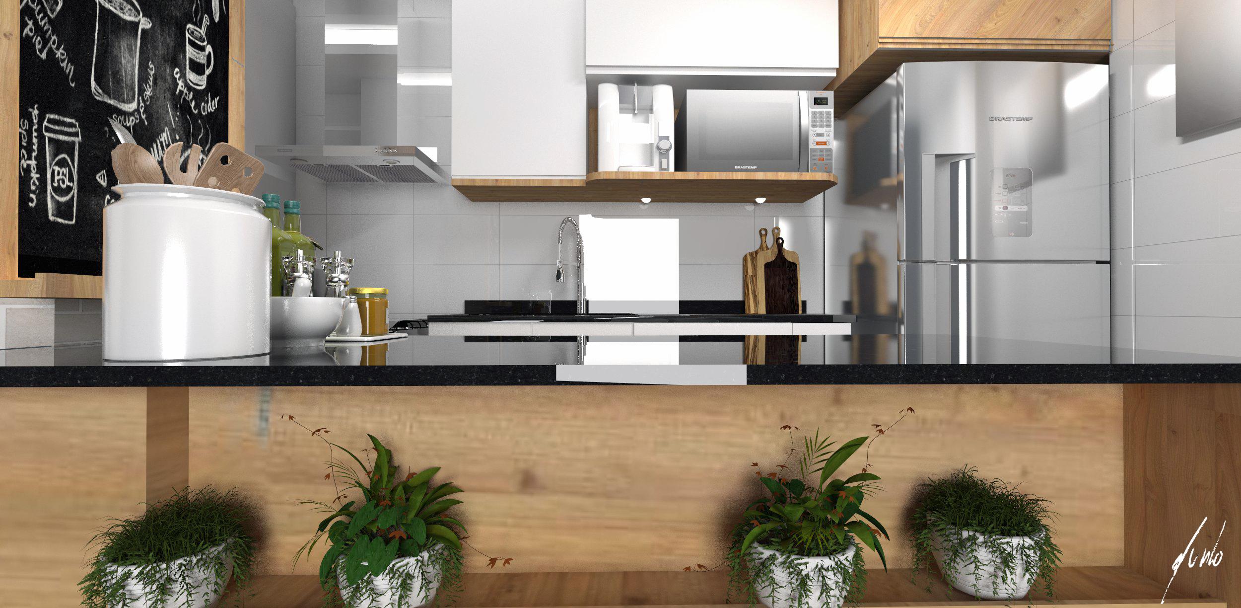 Cozinha Pequena Americana Simples Cozinha Americana Planejada
