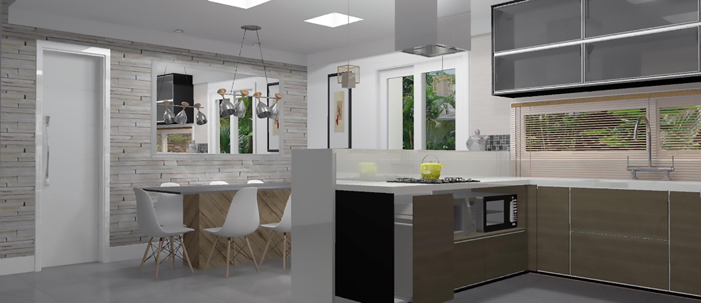 Cozinhas Em U Planejadas Cozinha Em U Render Up Versao Render