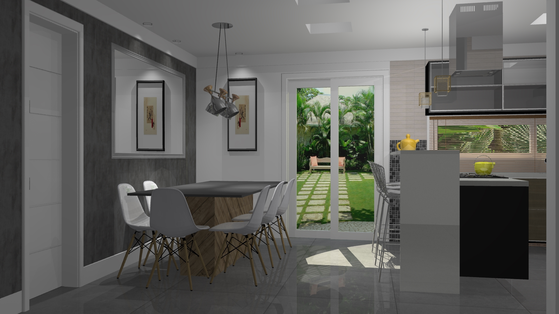 de cozinha planejada cozinha pequena planejada projetos de cozinhas  #997E32 1920 1080