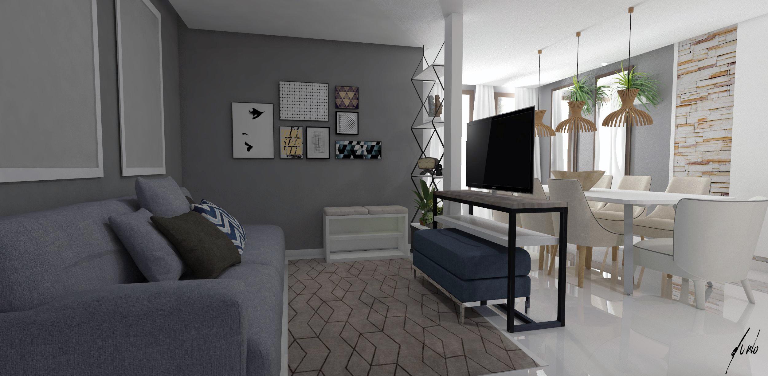Salas de estar murilo zadulski interiores designer de - Casas modernas interiores ...