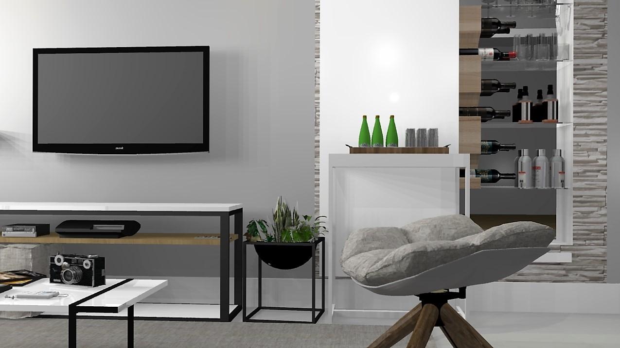 Salas de estar murilo zadulski interiores designer de for Interiores minimalistas
