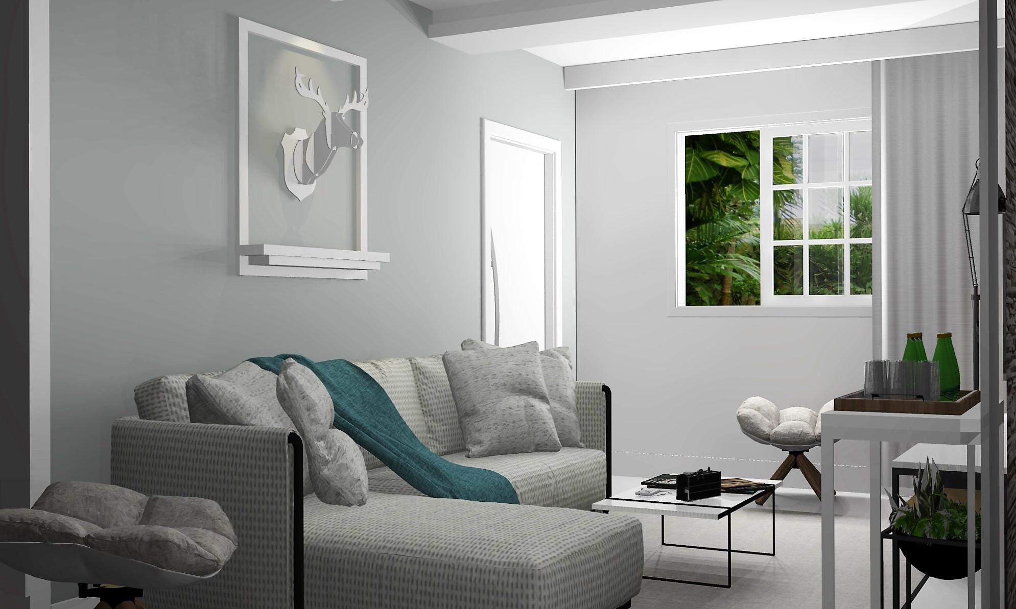 Salas de estar – Murilo Zadulski – Design e decoração de  #495F2F 1989 1193