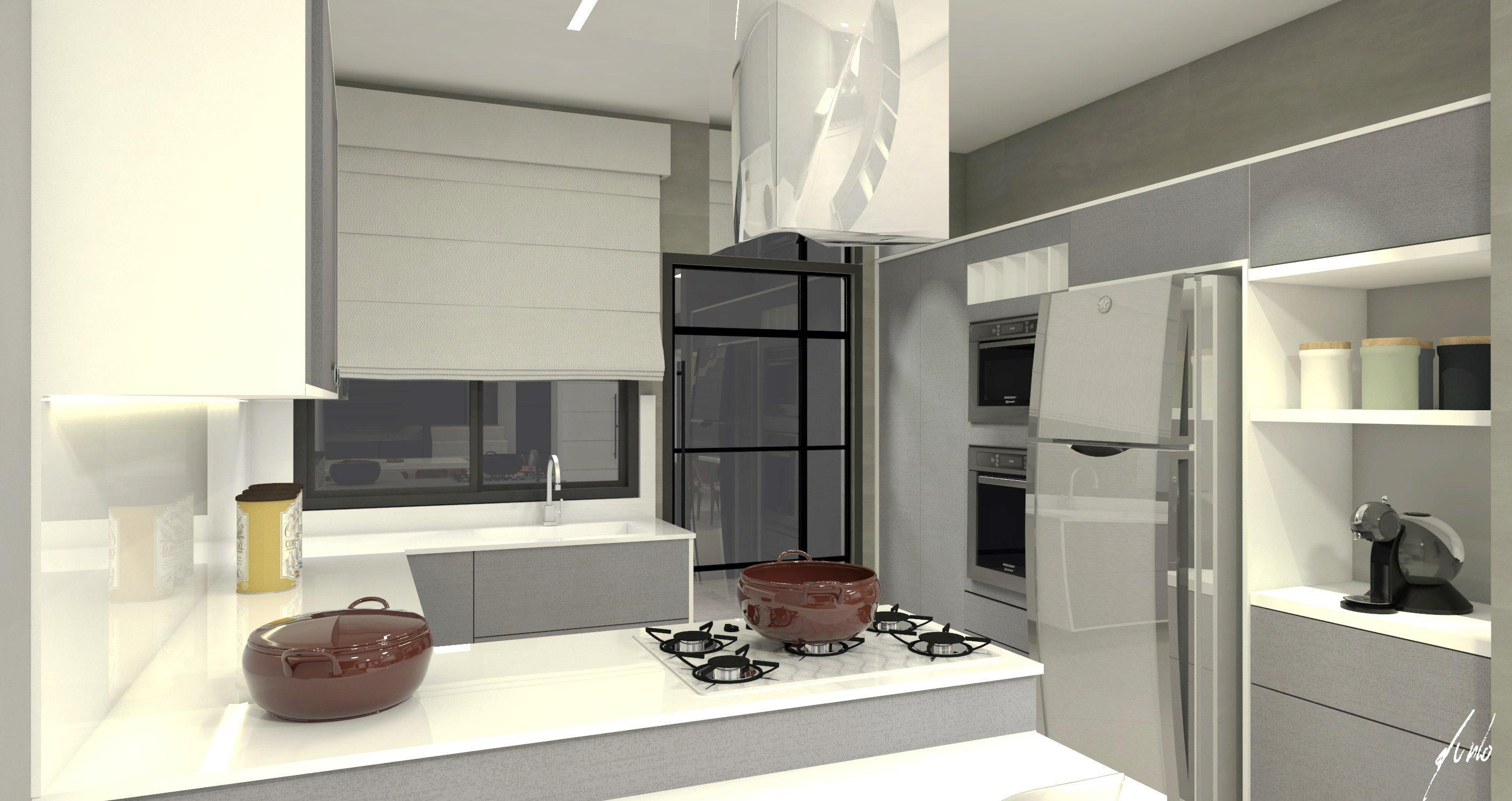 Modelo De Cozinha Industrial Zm89 Ivango