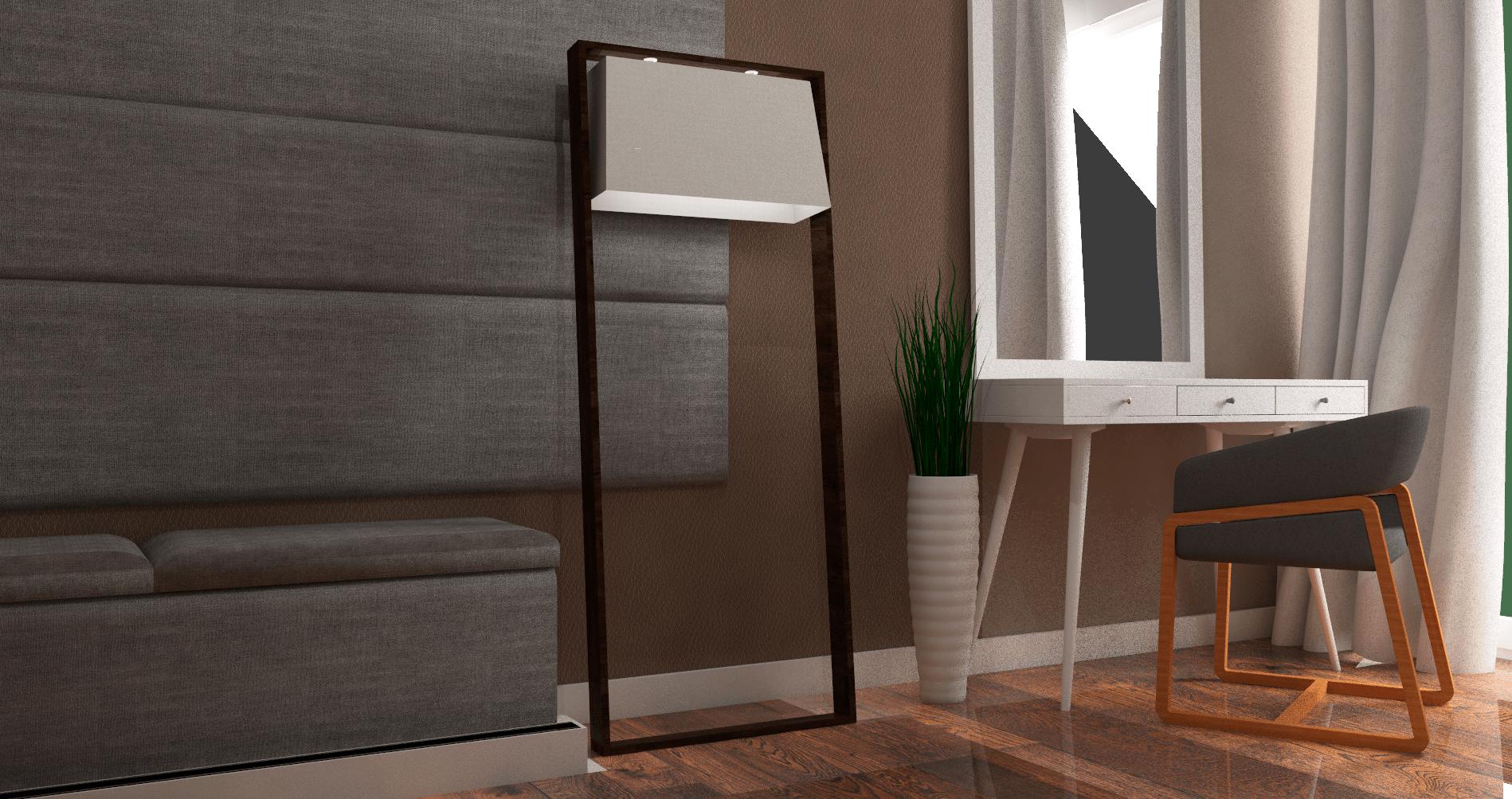 Projeto de suite grande e moderna