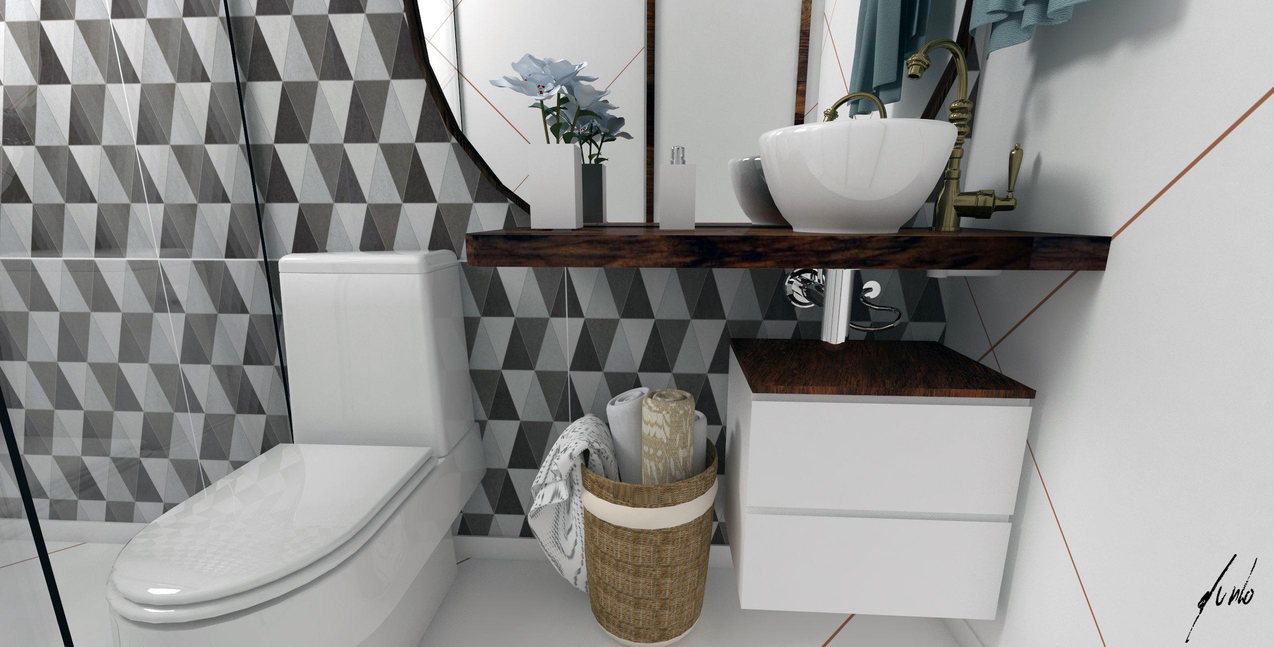 PORTFÓLIO – Murilo Zadulski – Design e decoração de interiores em Curitiba Pr -> Decoracao De Banheiro Provencal