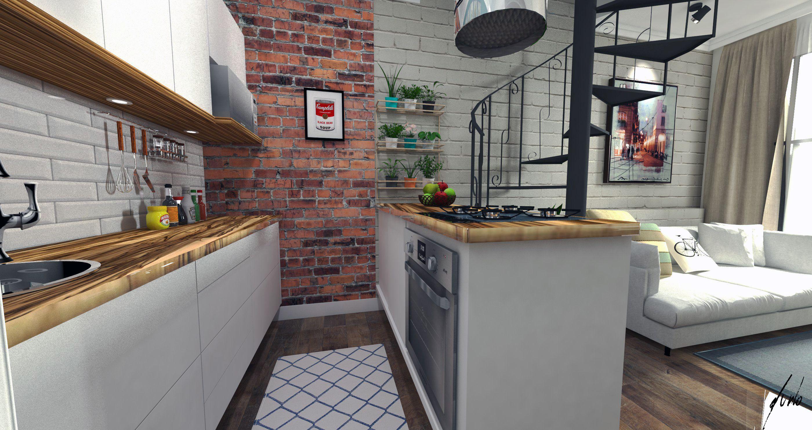 cozinha-da-primeira-casa-do-jovem-casal-curitibano-tijolos-aparentes-tampos-de-madeira-moveis-brancos-escada-preto-fosco-estilo-e-conforto-projeto-e-execucao-murilo-zadul-img01