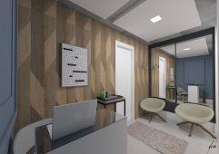 Recepção sala comercial no bairro são francisco em curitiba pr projeto de design e decoracao por murilo zadulski designer de interiores 01