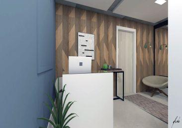Recepção sala comercial no bairro são francisco em curitiba pr projeto de design e decoracao por murilo zadulski designer de interiores 014