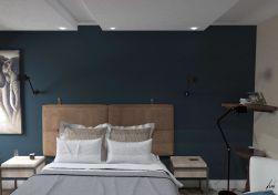 Projeto de design e decoração Suite do casal - Sobrado em pinhais - projeto e imagens por murilo zadulski designer de interiores em curitiba 0106 Empresa de design de interiores em curitiba 06