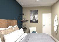 Projeto de design e decoração Suite do casal - Sobrado em pinhais - projeto e imagens por murilo zadulski designer de interiores em curitiba 0106 Empresa de design de interiores em curitiba