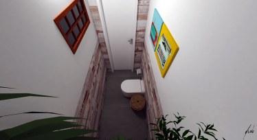 Lavabo para a churrasqueira - Projeto e imagens por estudio Murilo Zadulski - ambientes exclusivos, projetos de design e decoração de interiores em Curitiba - img03