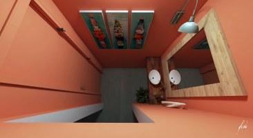 Lavabo para a churrasqueira - Projeto e imagens por estudio Murilo Zadulski - ambientes exclusivos, projetos de design e decoração de interiores em Curitiba - img04
