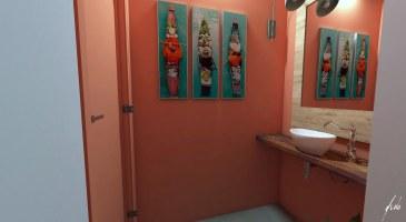 Lavabo para a churrasqueira - Projeto e imagens por estudio Murilo Zadulski - ambientes exclusivos, projetos de design e decoração de interiores em Curitiba - img05
