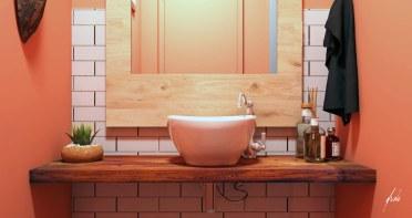Lavabo para a churrasqueira - Projeto e imagens por estudio Murilo Zadulski - ambientes exclusivos, projetos de design e decoração de interiores em Curitiba - img07