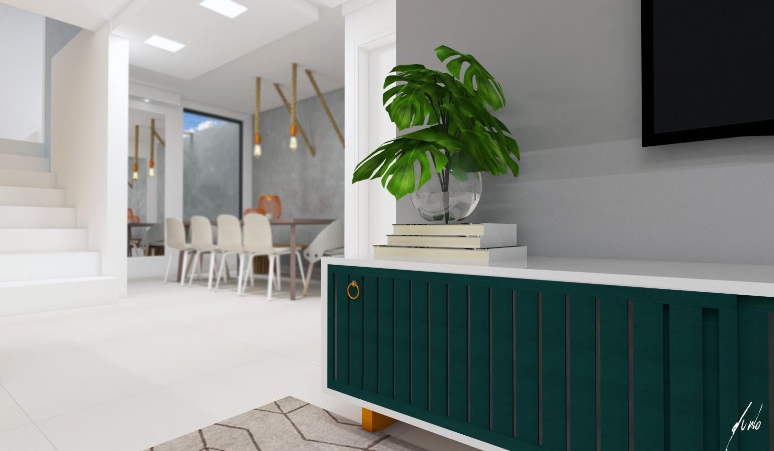 Sala de estar contemporanea desenvolvida pelo estudio Murilo Zadulski Interiores - Designer de interiores em Curitiba - Projetos e consultoria img0104