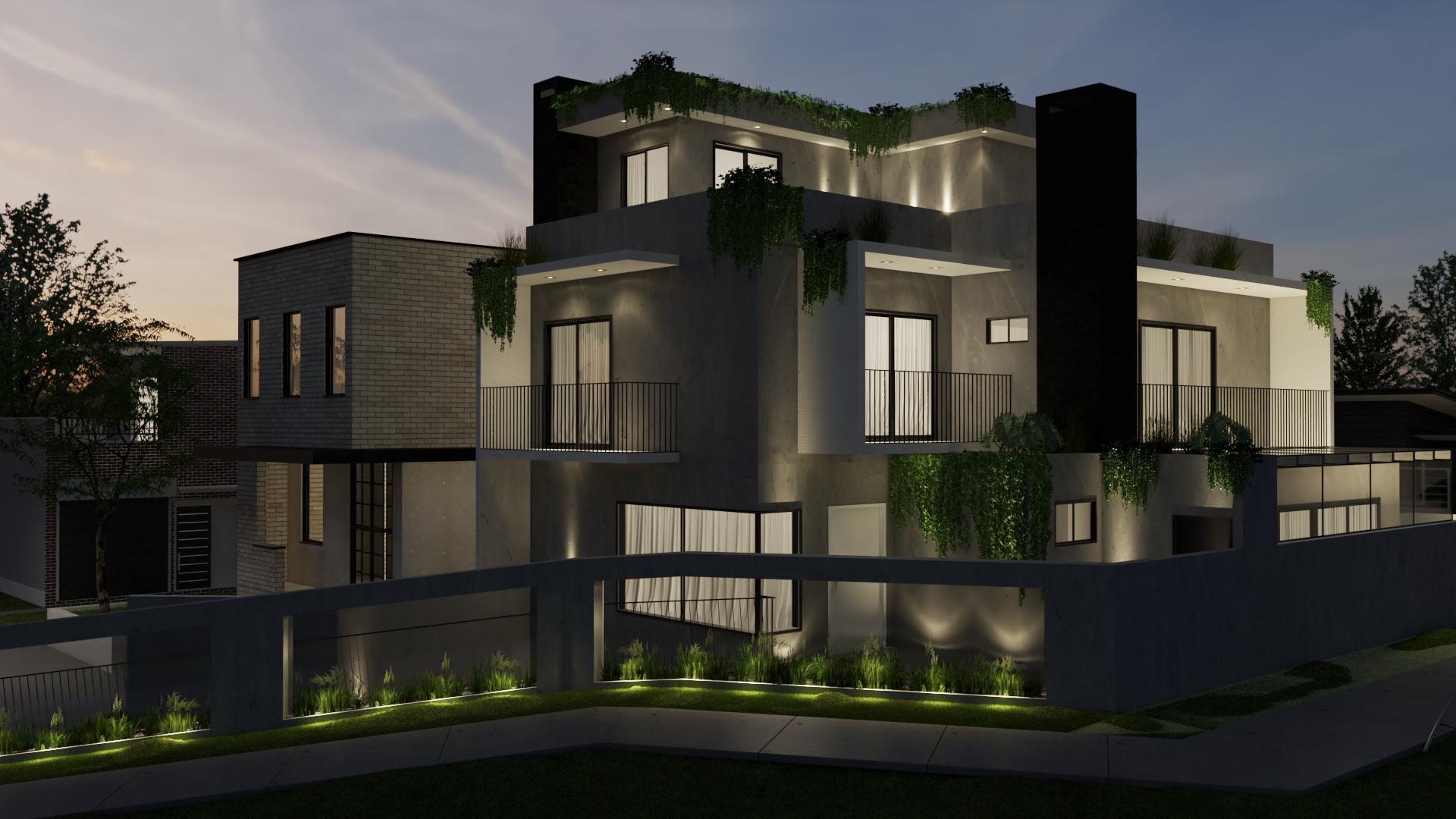fachadas de casas modernas -casas-modernas-fachada-projetos-casas-modernas-decoracao-de-casa-casas-modernas-decoradas-fotos-murilo-zadulski-interiores 2