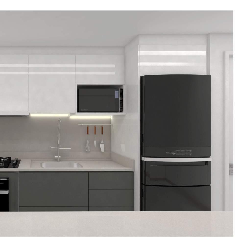 Cozinha moderna em Santo Andre sp