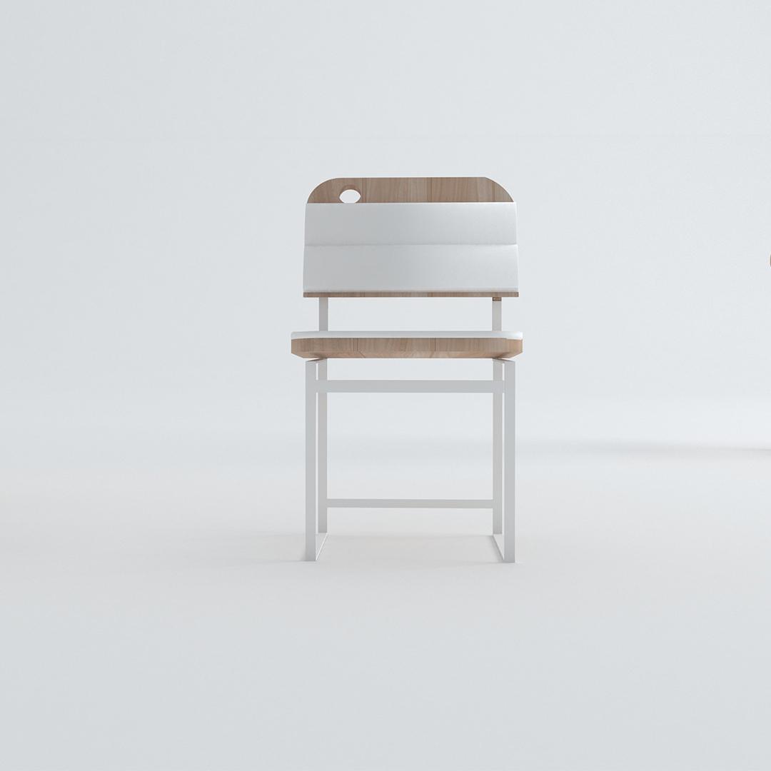 Design curitibano, cadeira sif. Por Estúdio Murilo Zadulski Interiores