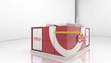 Projeto de quiosque para shopping - Quizzy - São José dos Pinhais - pr