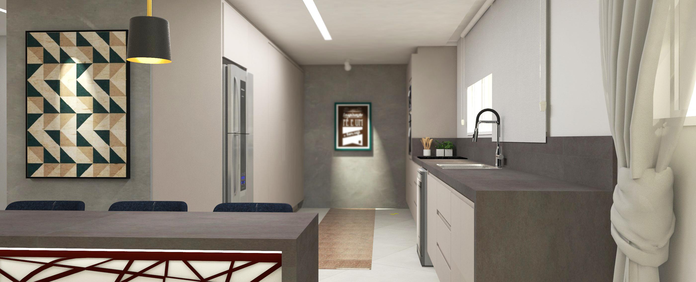 Projeto de cozinha moderna -minimalista para casa em curitiba - estudio murilo zadulski interiores - design em curitiba 0205