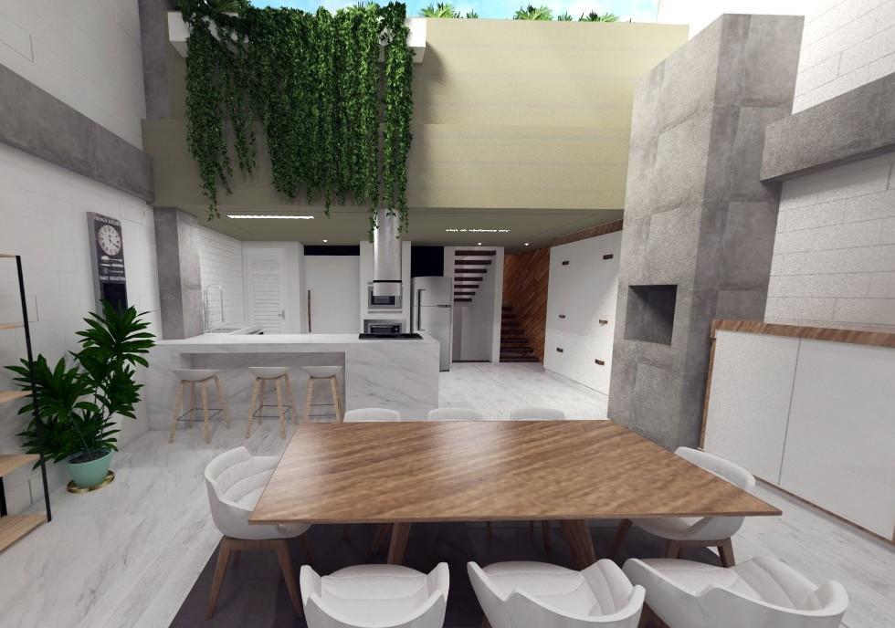 Projeto interiores casa jardim das americas - sala com pé direito duplo - moderna - estúdio murilo zadulski interiores 01 - Design e decoração de interiores em Curitiba -